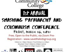 Smashing Patriarchy and Colonialism Conference