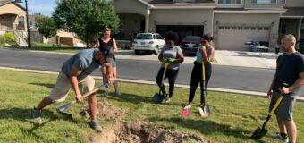 Southwest Save the Kids Plants Trees on Juneteenth